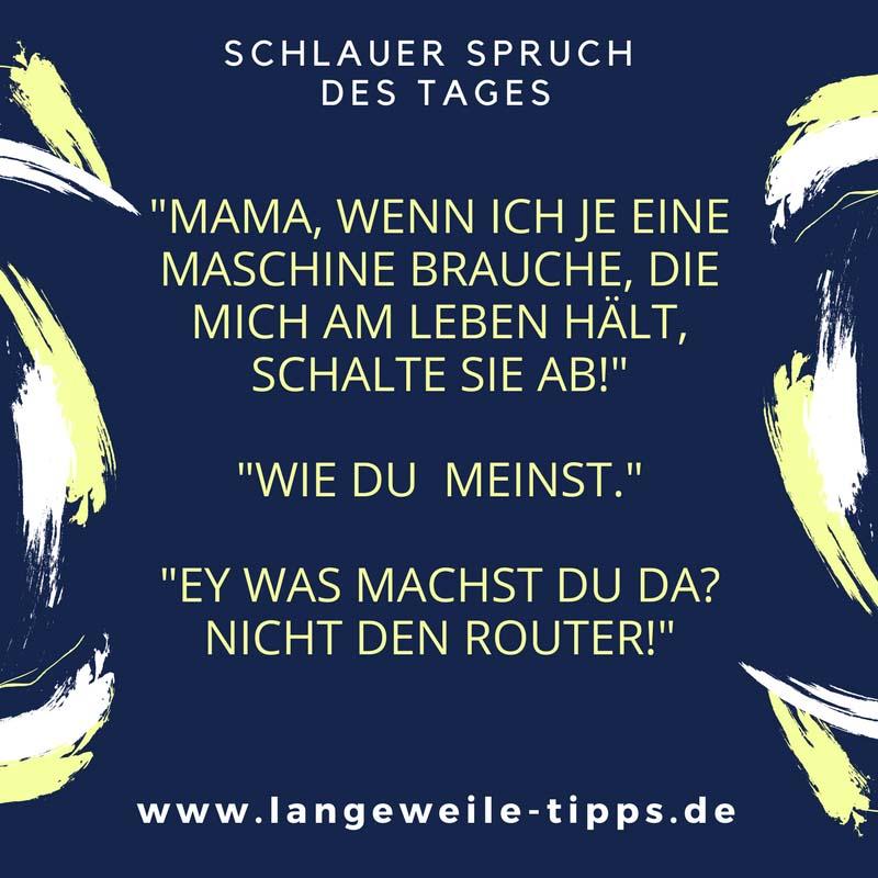 Langeweile Tipps - Mama Witze